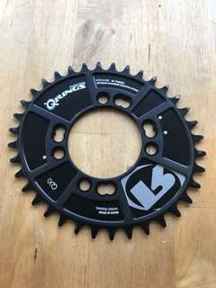 Rotor QX1 chainring 36t 76BCD