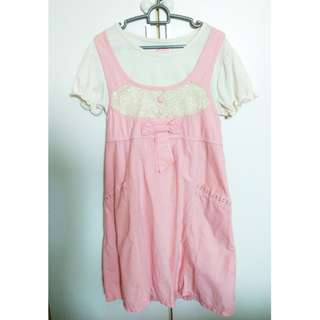 *much reduced* Maternity Dress Pink
