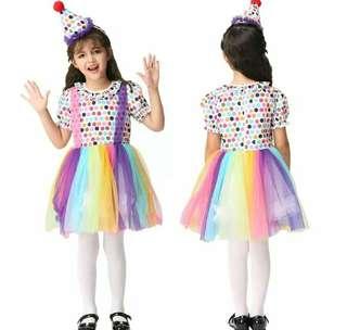 Mesh rainbow lace princess costume