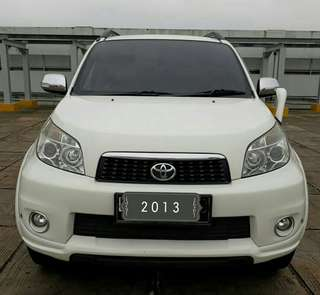 Toyota RUSH TRD sportivo 1.5 At 2013 putih
