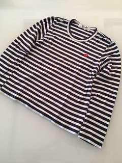 Comme des Garcons Original Long Sleeves Stripe Shirt