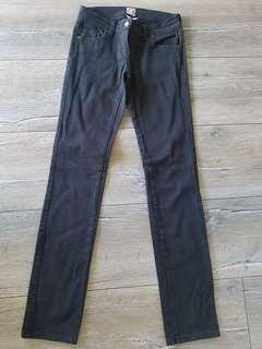 Sass & Bide Black Denim Jeans Size 27 / Size 8