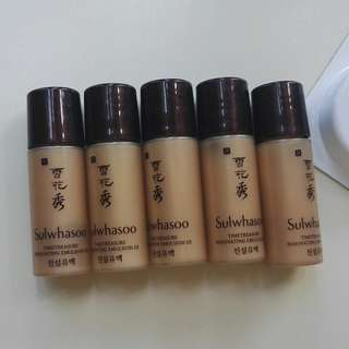 Sulwhasoo Time Treasure Renovating Emulsion EX 5ml x 5