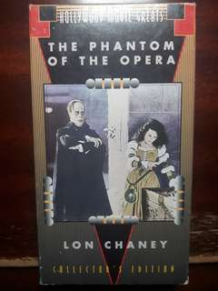 Original Phantom of The Opera VHS Collectors Edition