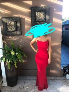 Red dress/ gown