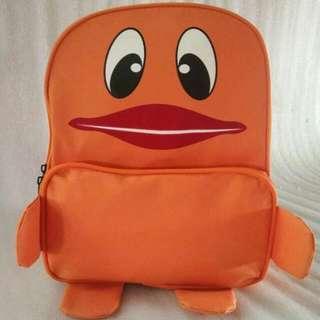 Kid's Orange Duck Bagpack