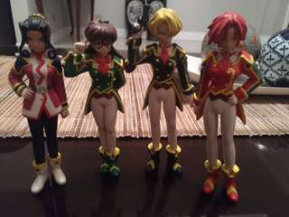 Sakura Wars Figures