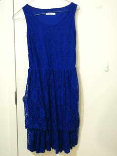Royal Blue Dress from Katie