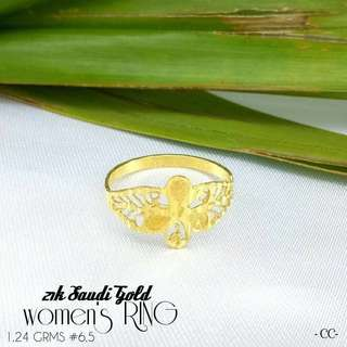lady ring sudi gold