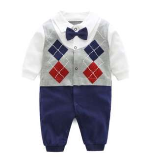 💡FOC NORMAL MAIL💡 BN 100% Cotton Baby Romper / Bodysuit / Onesie [Long Sleeve Formal]
