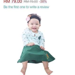 Rompers Baju Kurung by Himayya
