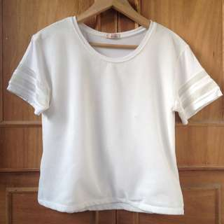 Crissa White Boxy top