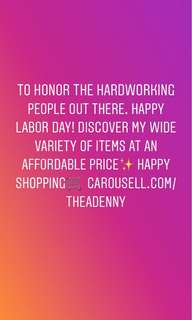 Labor day Sale!🎀