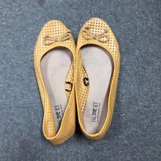 The Little Thing She Needs - Mustard Yellow Shoes