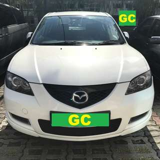 Mazda 3 RENT CHEAPEST RENTAL AVAILABLE FOR Grab/Ryde/Personal USAGE