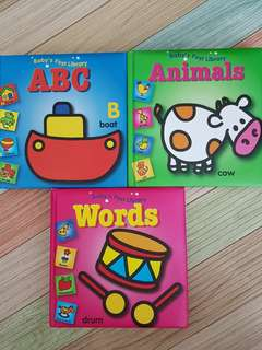 Baby's First Library Board Books