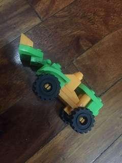 Lego Like Vehicle