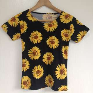 NEW! Sunflower shirt
