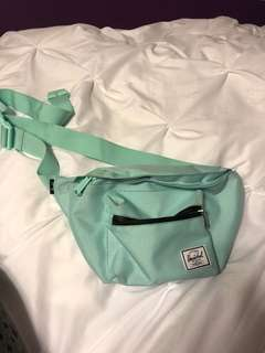 Herchel fanny pack (large size) worn once