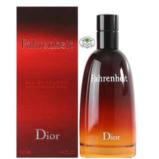 AUTHENTIC PERFUME - Fahrenheit by Christian Dior PERFUME