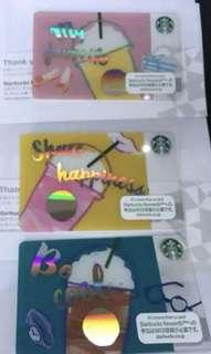 Starbucks Frappuccino cate set - japan
