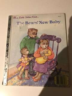 The Bears New Baby - Little Golden Book