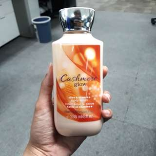 Bath and Body Works Cashmere Body Lotion