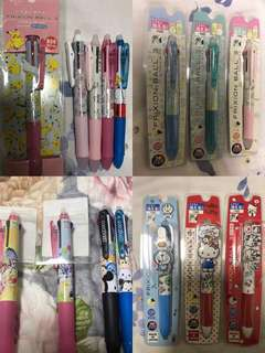 Ready stock - pilot sanrio multi frixion pen