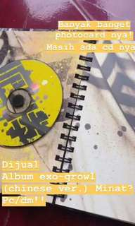 Album EXO Growl