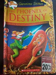 Geronimo Stilton The Phoenix of Destiny (Hardcover)