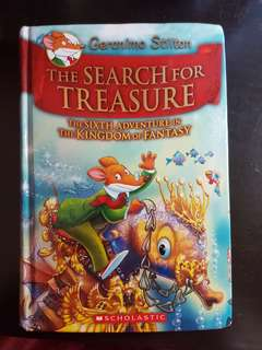 Geronimo Stilton The Search for Treasure