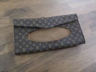 LV Car Tissue Holder