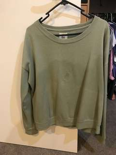Green billabong jumper (crew neck)