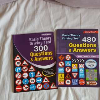 Driving theory Books question answers books