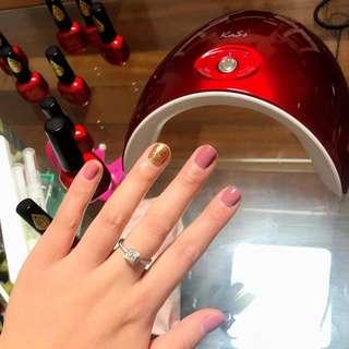 LED+UV Nail Lamp for Gel Polish, Professional Manicure Pedicure Gelish 36W