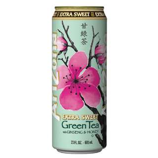 *新商品*免運費*ARIZONA美國微糖綠茶680ml(24入)/箱