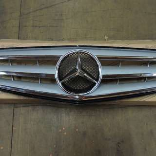 Mercedes Benz C-class W204 Front Grille With Big Star