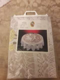 Lace tablecloth uk