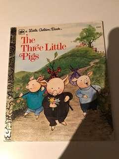 The Three Little Pigs - Little Golden Book