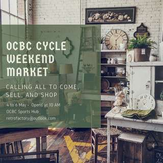 Ocbc cycle weekend market