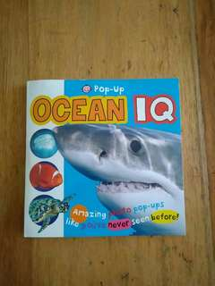 Ocean IQ Pop Up book