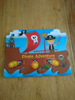 Pirate Adventure Pop Up book