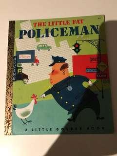 The Little Fat Policeman - Little Golden Book