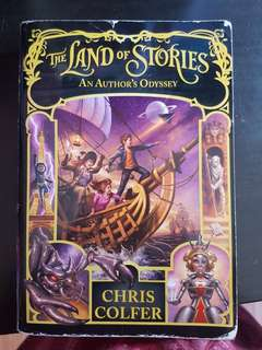 Land of Stories - An Author's Odyssey - Book 5