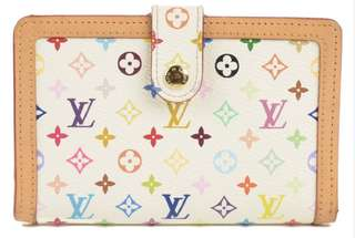 Louis Vuitton French Purse Multicolor