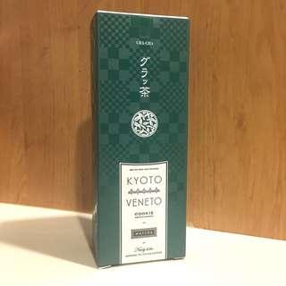 🚚 日本 KYOTO VENETO 京都宇治抹茶巧克力夾心餅 9枚裝禮盒
