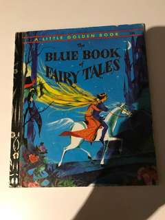 The Blue Book Of Fairy Tales - Little Golden Book