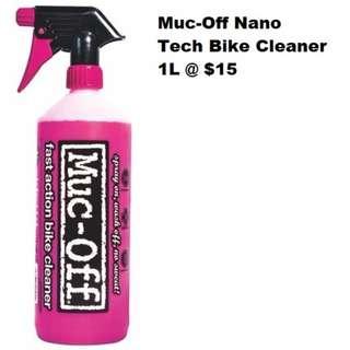 Muc-Off Nano Tech Bike Cleaner 1L @ $15 2L @$27