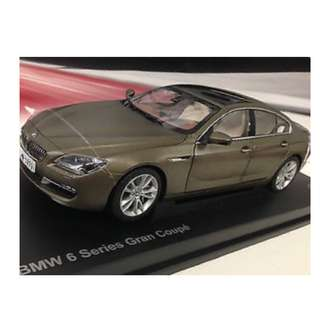 BMW 6 SERIES F06 Grand Coupe Frozen Bronze 1/18th Factory BMW Diecast