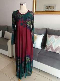 Women Long Dress / Dress Panjang Wanita